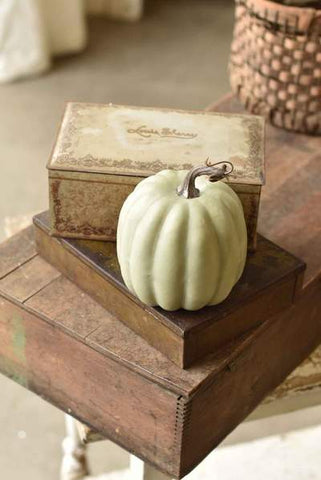 "7"" GRAY PUMPKIN"
