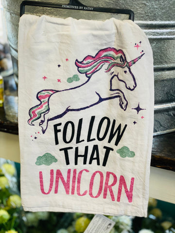 Kids Bathroom Hand Towel - Follow That Unicorn