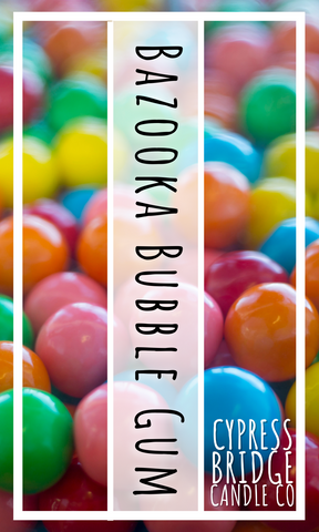 Bazooka Bubble Gum Fragrance Oil