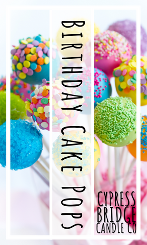 Birthday Cake Pop Fragrance Oil