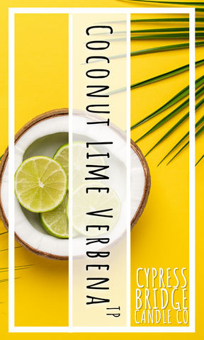 Coconut Lime Verbena TP Fragrance Oil