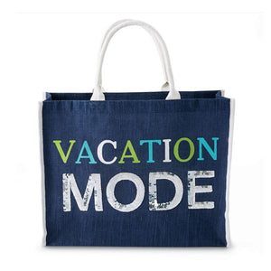 Dazzle Vacation Mode Jumbo Tote