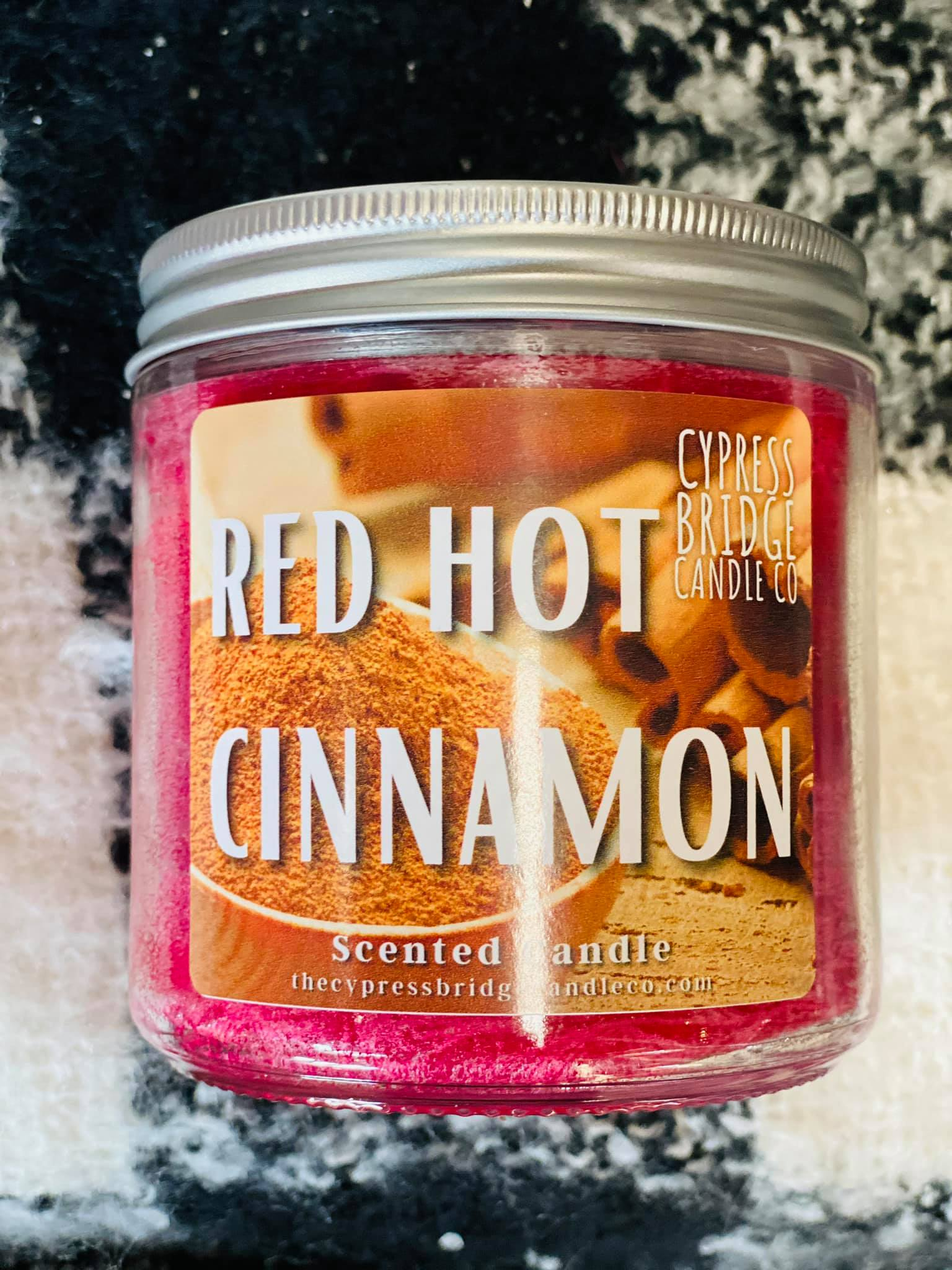 Red Hot Cinnamon 12oz+ Jar Candle