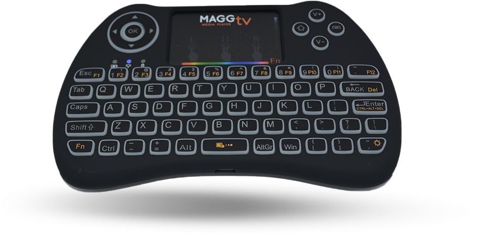 MaggTV 2.4 GHz Mini  Wireless RF Keyboard  Mouse Combo