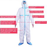 Medical Protective Coverall BH800 50 pcs