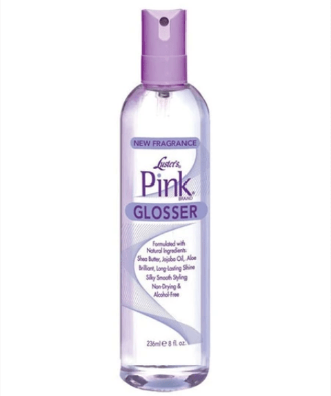 PINK HAIR GLOSSER SPRAY - merry poppins beauty