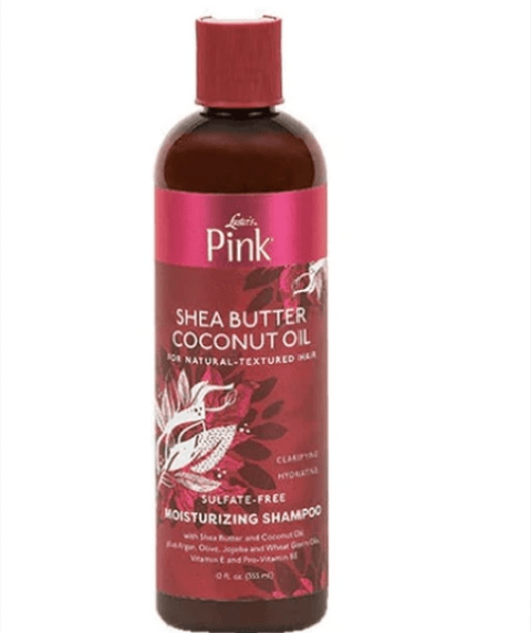 PINK SHEA  BUTTER  COCONUT OIL MOISTURIZING SHAMPOO - merry poppins beauty