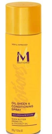 MOTIONS NOURISH AND RESTORE SHEEN AND CONDITIONING SPRAY - merry poppins beauty