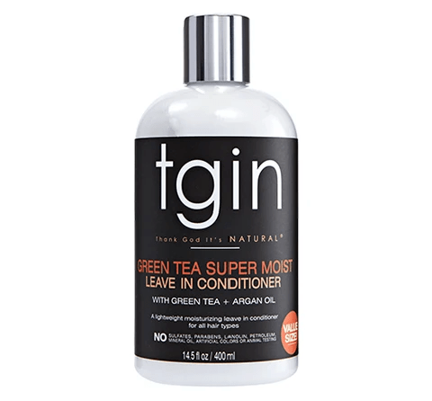 TGIN - GREEN TEA SUPER MOIST LEAVE IN CONDITIONER - 13OZ - merry poppins beauty