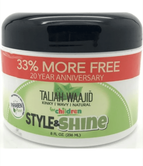 TALIAH WAAJID KINKY WAVY NATURAL STYLE AND SHINE REPAIR CREAM - merry poppins beauty