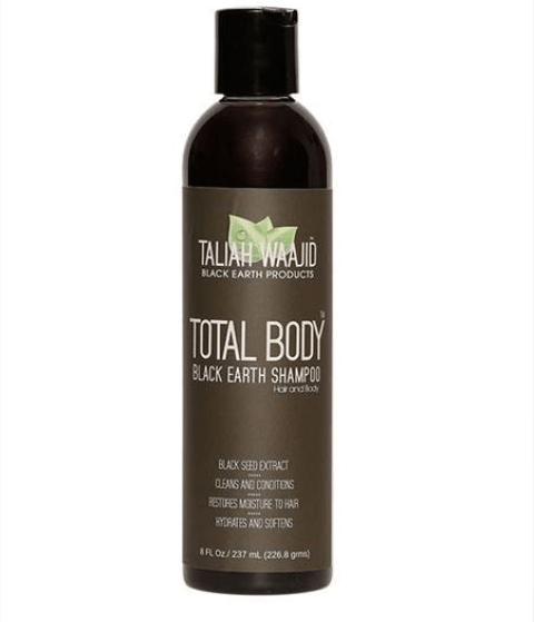 TALIAH WAAJID  TOTAL BODY BLACK EARTH SHAMPOO  - merry poppins beauty