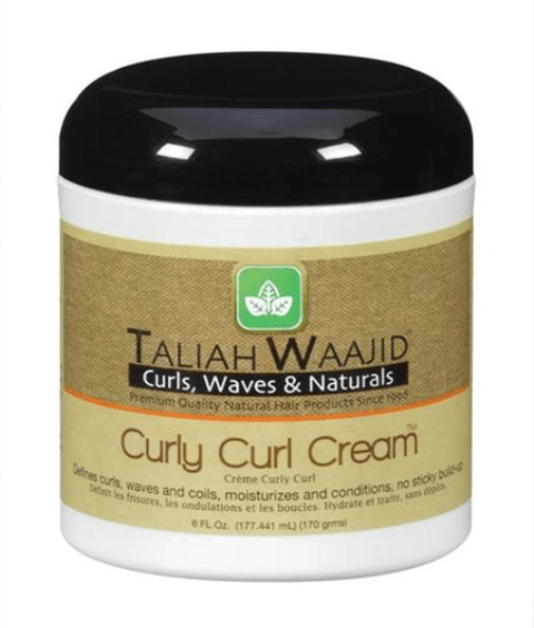 TALIAH WAAJID  CURLS WAVES AND NATURALS CURLY CURL CREAM  - merry poppins beauty