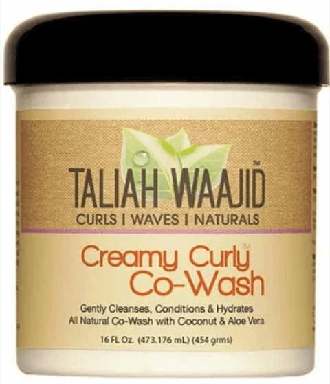 TALIAH WAAJID  CURLS WAVES AND NATURAL CREAMY CURLY CO WASH  - merry poppins beauty