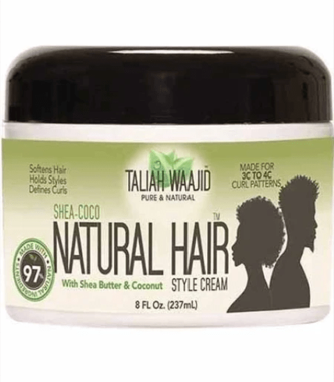 TALIAH WAAJID  SHEA COCO NATURAL  HAIR STYLE CREAM  - merry poppins beauty