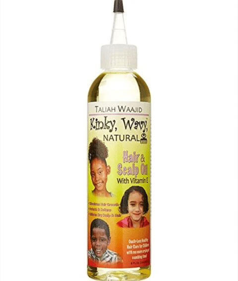 TALIAH WAAJID KINKY WAVY NATURAL HAIR AND SCALP OIL WITH VITAMIN E  - merry poppins beauty