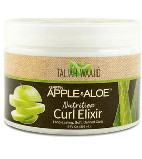 TALIAH WAAJID  GREEN APPLE AND ALOE CURL ELIXIR - merry poppins beauty