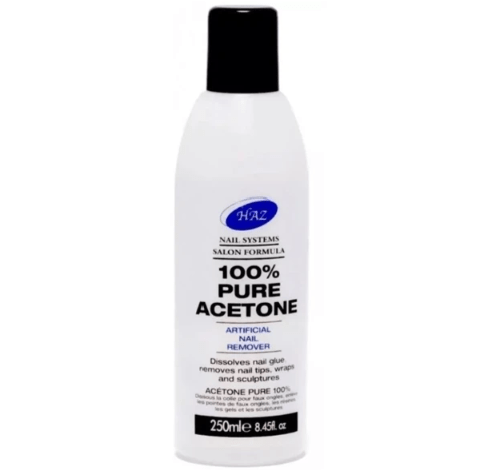 HAZ PURE ACETONE 250ML  - merry poppins beauty