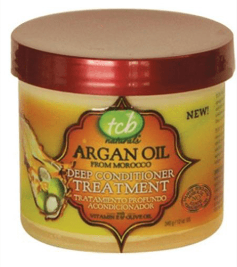 TCB ARGAN OIL FROM MOROCCO DEEP CONDITIONER  TREATMENT    - merry poppins beauty
