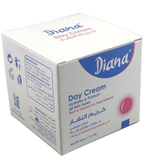 DIANA DAY CREAM RICH IN VITAMIN E AND PLANT EXTRACTS - merry poppins beauty