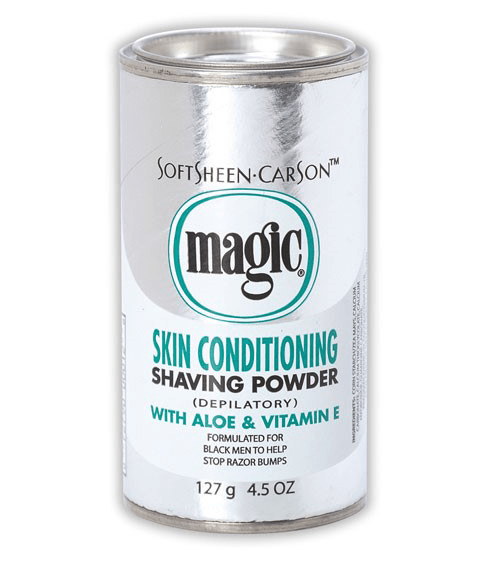 SOFTSHEEN  CARSON MAGIC SHAVING POWDER PLATINUM - merry poppins beauty