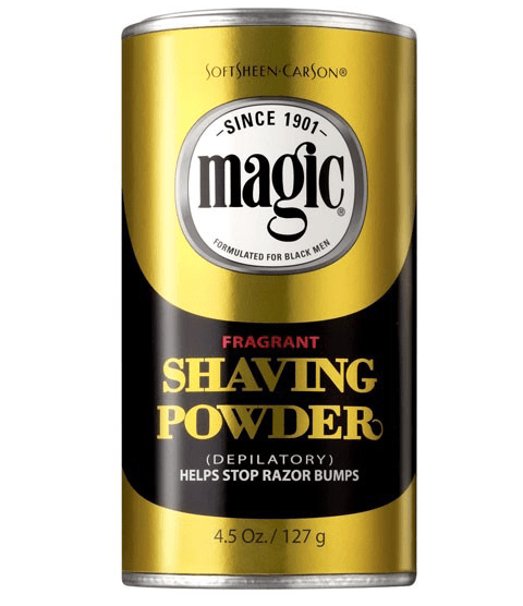 SOFTSHEEN CARSON MAGIC SHAVING POWDER GOLD - merry poppins beauty