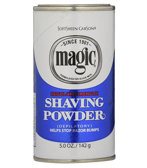 SOFTSHEEN  CARSON MAGIC SHAVING POWDER BLUE - merry poppins beauty