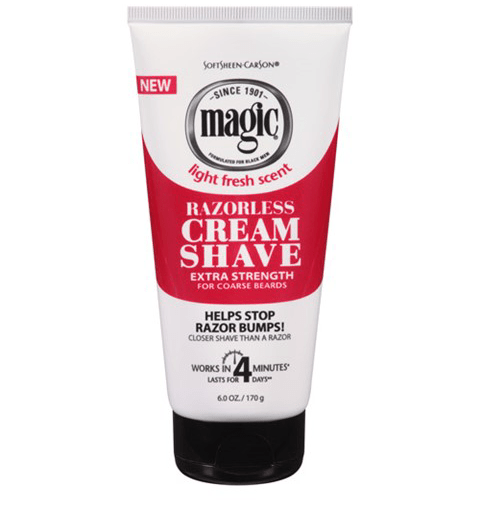SOFTSHEEN CARSON MAGIC SHAVE CREAM EXTRA STRENGTH - merry poppins beauty