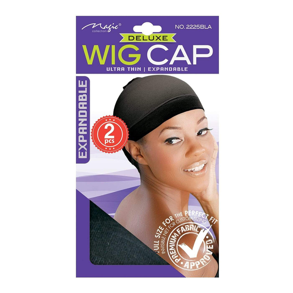 Stocking Wig Cap Black - merry poppins beauty