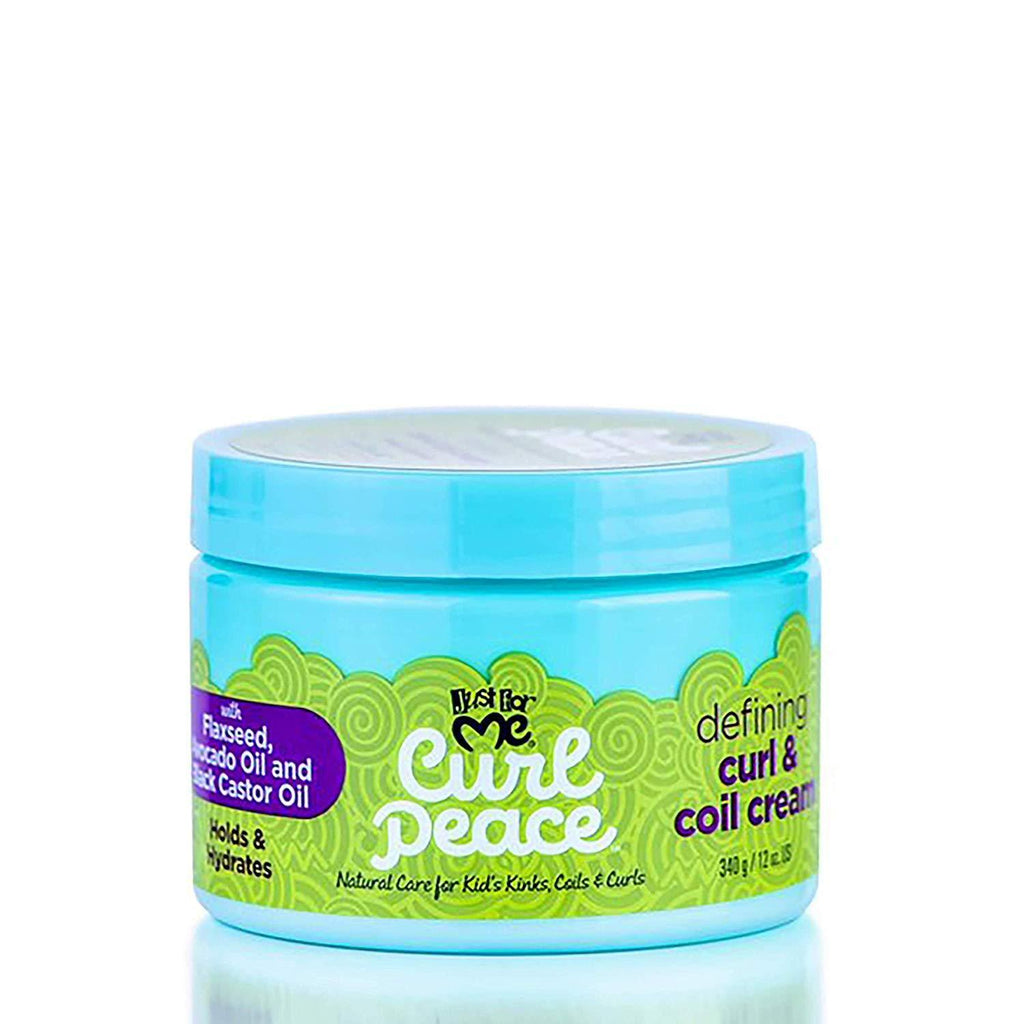 JUST FOR ME Curl Peace Defining Curl And Coil Cream 340G - merry poppins beauty