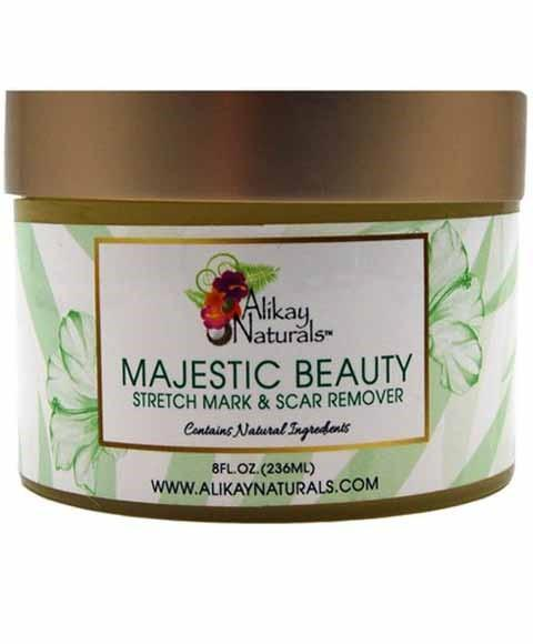ALIKAY NATURALS MAJESTIC BEAUTY STRETCH MARK AND SCAR REMOVER 8OZ - merry poppins beauty