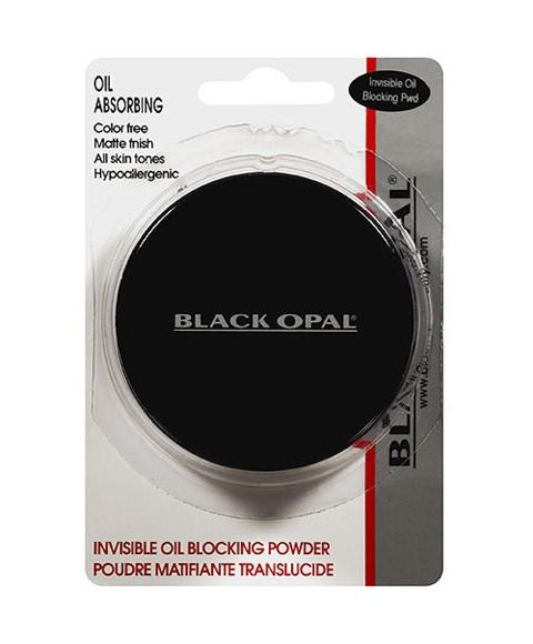 BLACK OPAL OIL ABSORBING INVISIBLE OIL BLOCKING PRESSED POWDER - merry poppins beauty