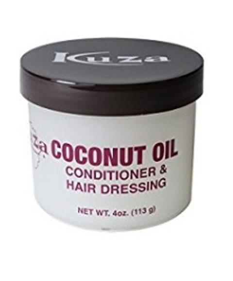 KUZA COCONUT OIL CONDITIONER AND HAIR DRESSING 4OZ - merry poppins beauty