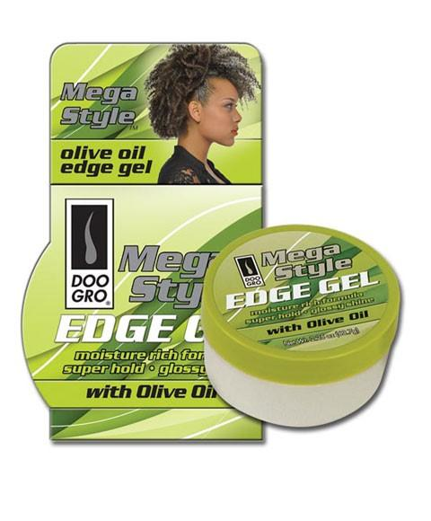 DOO GRO MEGA STYLE EDGE GEL WITH OLIVE OIL - merry poppins beauty