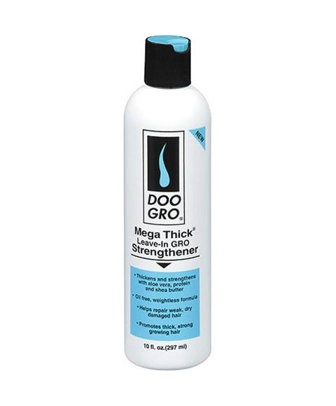 DOO GRO MEGA THICK LEAVE IN GRO STRENGTHENER 10OZ - merry poppins beauty