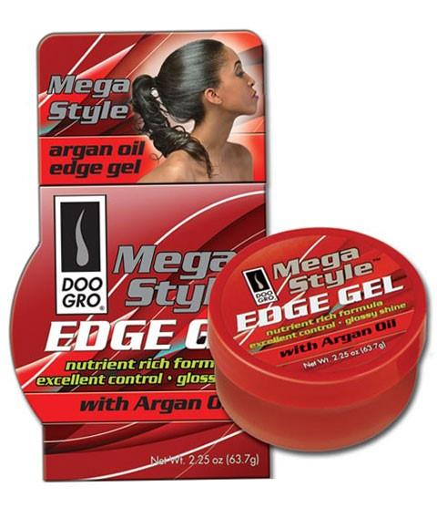 DOO GRO MEGA STYLE EDGE GEL WITH ARGAN OIL 2.25OZ - merry poppins beauty