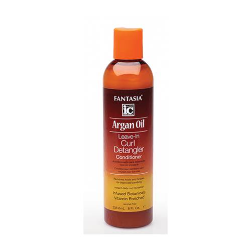 FANTASIA IC - ARGAN OIL LEAVE-IN CURL DETANGLER CONDITIONER - 8OZ - merry poppins beauty