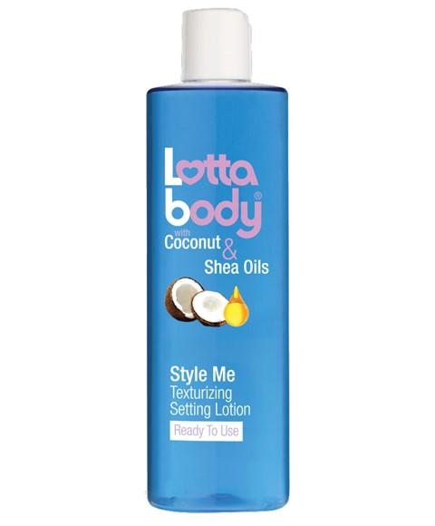 LOTTA BODY COCONUT AND SHEA OILS STYLE ME TEXTURIZING SETTING LOTION 354ML - merry poppins beauty