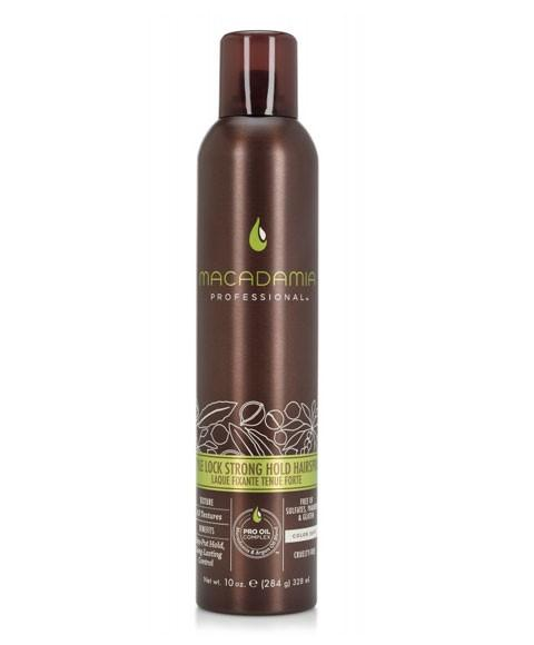 MACAMADIA  PROFESSIONAL STYLE LOCK STRONG HOLD HAIRSPRAY - merry poppins beauty
