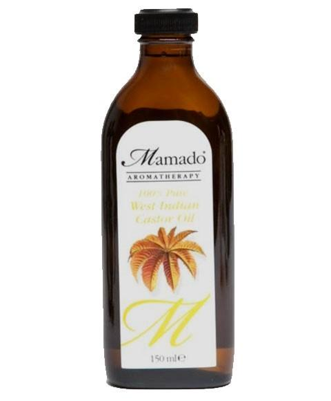 MAMADO AROMATHERAPY 100 PERCENT PURE WEST INDIAN CASTOR OIL 150ML - merry poppins beauty