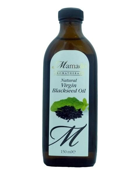 MAMADO AROMATHERAPY NATURAL VIRGIN BLACK SEED OIL 150ML - merry poppins beauty