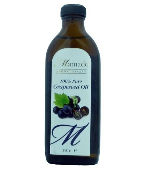 MAMADO AROMATHERAPY 100 PERCENT PURE GRAPESEED OIL 150ML - merry poppins beauty