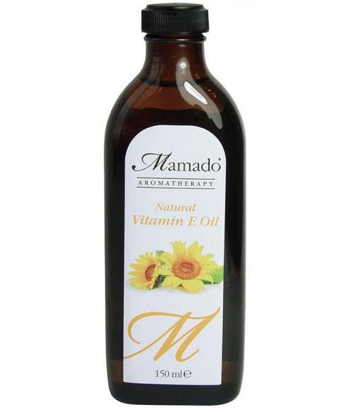 MAMADO AROMATHERAPY NATURAL VITAMIN E OIL 150ML - merry poppins beauty