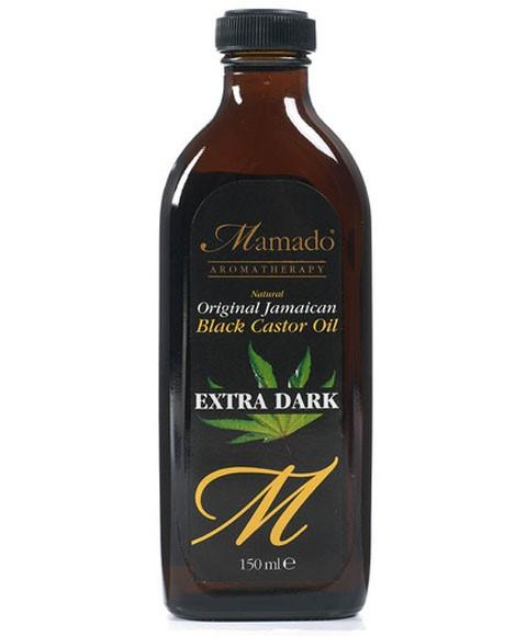 MAMADO NATURAL ORIGINAL JAMAICAN BLACK CASTOR OIL EXTRA DARK 150ML - merry poppins beauty
