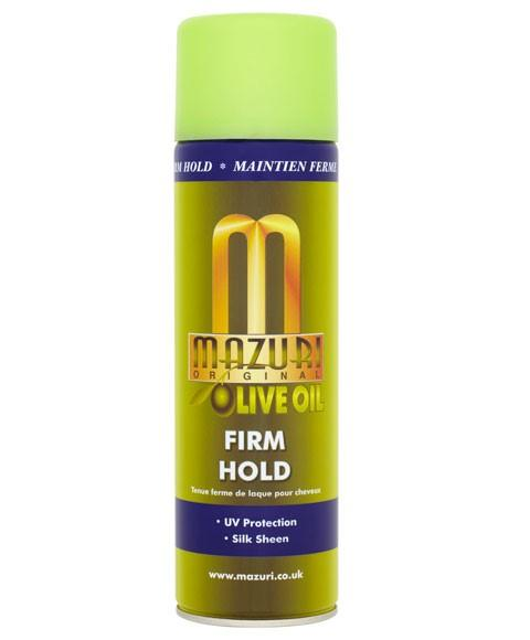 MAZURI OLIVE OIL FIRM HOLD SPRAY 500ML - merry poppins beauty