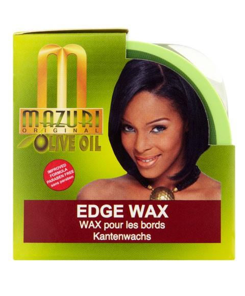 MAZURI OLIVE OIL EDGE WAX 103G - merry poppins beauty