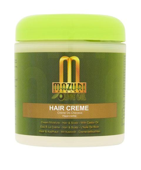 MAZURI OLIVE OIL HAIR CREME 177ML - merry poppins beauty