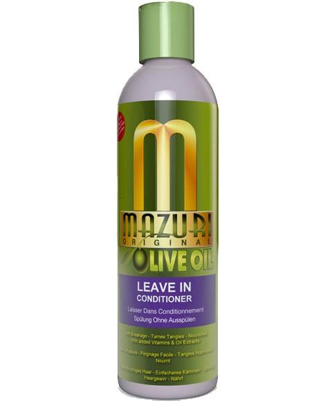 MAZURI OLIVE OIL LEAVE IN CONDITIONER 355ML - merry poppins beauty