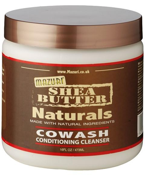 MAZURI SHEA BUTTER NATURALS COWASH CONDITIONING CLEANSER 473ML - merry poppins beauty