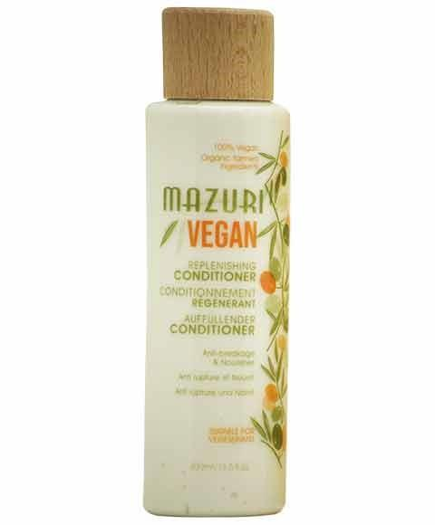 MAZURI VEGAN REPLENISHING CONDITIONER 400ML - merry poppins beauty
