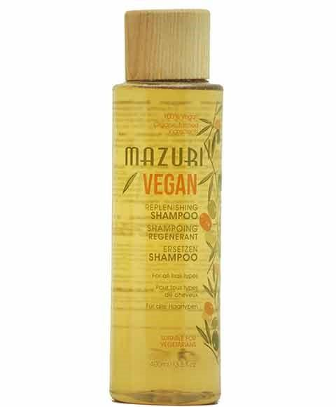 MAZURI VEGAN REPLENISHING SHAMPOO 400ML - merry poppins beauty